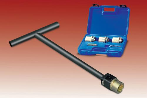 Lowell Valve Key Sockets - Valve Wrench for Waterworks Engineers