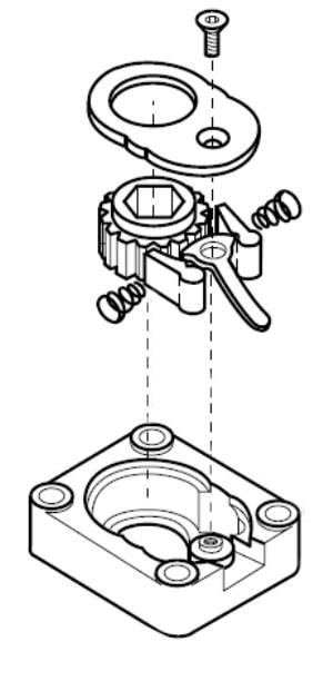 exploded clutch outline