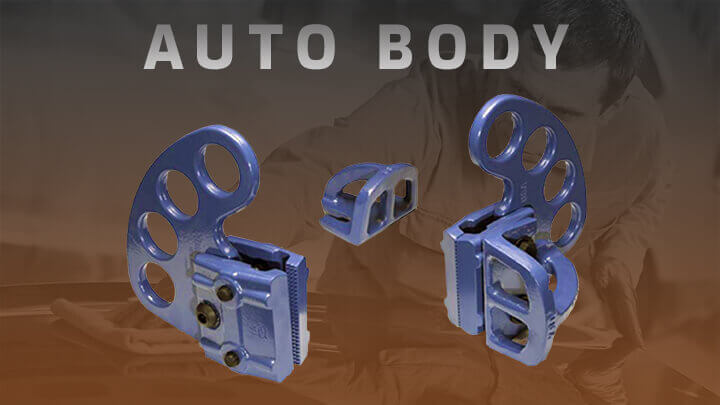 Auto Body Repair Tools - Porter Ferguson Hydraulics and Clamps