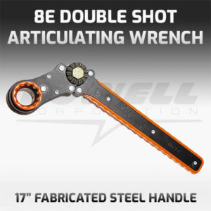 8E Articulating Socket Wrench