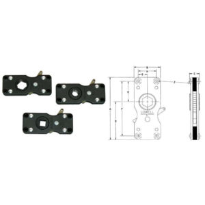 Model 701 Ratchet Clutches with dimensions