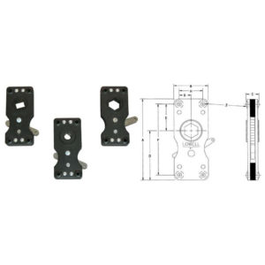Model 702 Ratchet Clutches With Dimensions