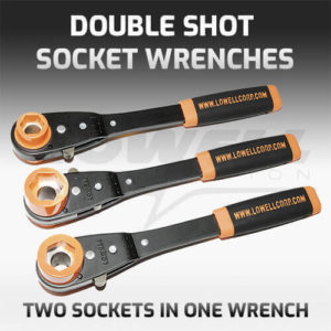 Double Shot Socket Wrench