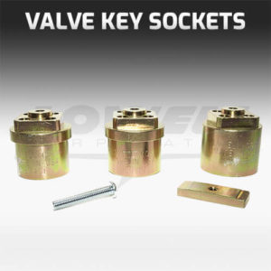 Valve Key Socket Set