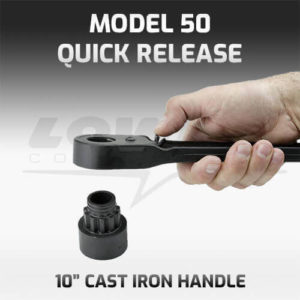 Model 50QR Quick Release Socket Wrench