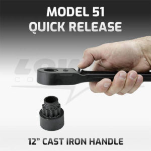 Model 51QR Quick Release Socket Wrench