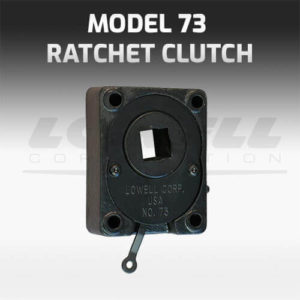 Model 73 Ratchet Clutch
