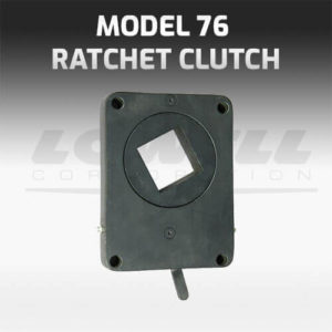 Model 76 Ratchet Clutch