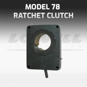 Model 78 Ratchet Clutch