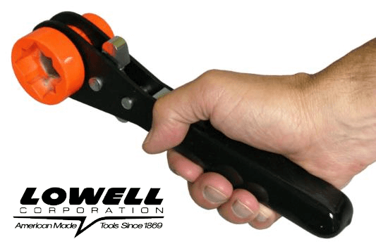 Lowell Lineman Wrench Model 101T Mini Triple Square